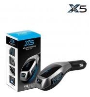 Автолялечка Модулятор трансмиттер FM X5 +Bluetooth