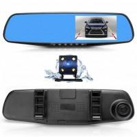 Автолялечка Зеркало видеорегистратор с камерой заднего вида Vehicle Blackbox DVR Full HD L9000