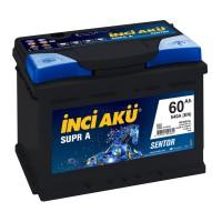 INCI AKU Аккумулятор автомобильный Inci Aku Supr A 60Ah 540 А (-/+)