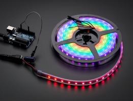 Автолялечка Подсветка диодная разноцветная RGB 5 м. (led 5050) (цена за 5 см.)